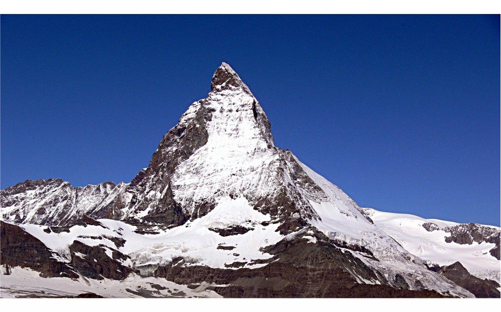Matterhorn im Sonnenschein - Variante 2