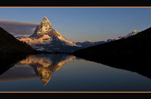 Matterhorn Morgenstimmung