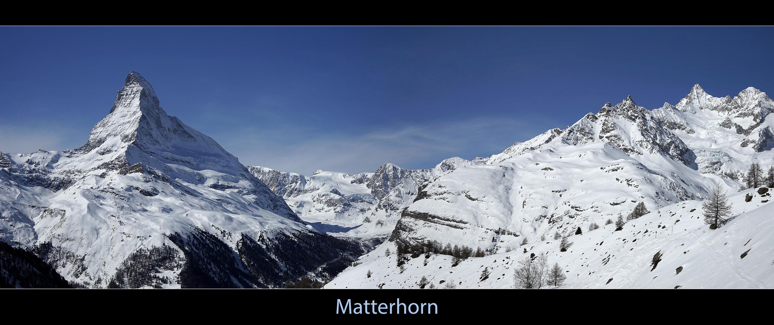 Matterhorn - Panorama 1