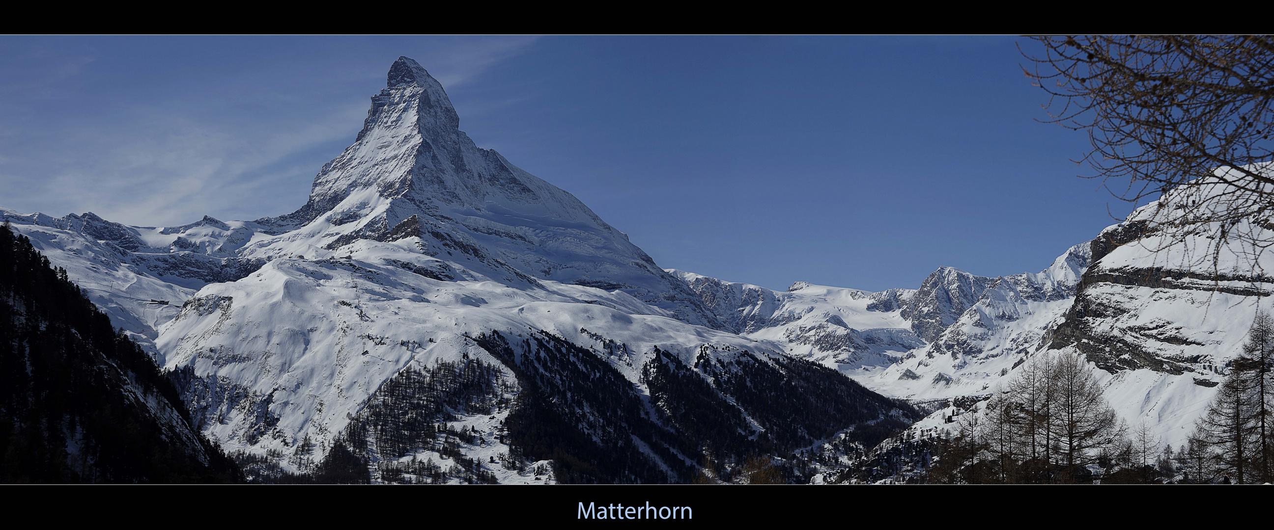 Matterhorn - Panorama