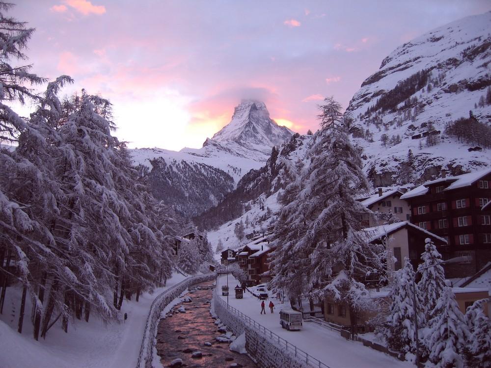 Matterhorn - Sonnenuntergang