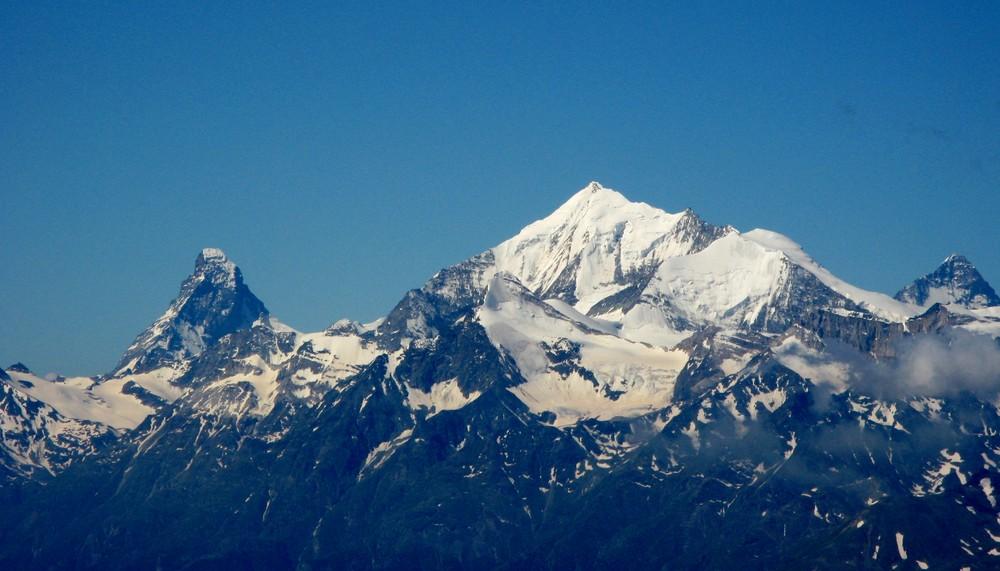 Matterhorn-Weisshorn-Dent Blanche