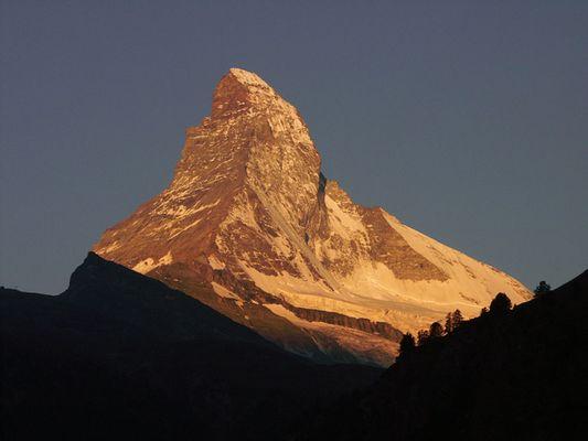 Matterhorn, Zermatt, Sommer 2004