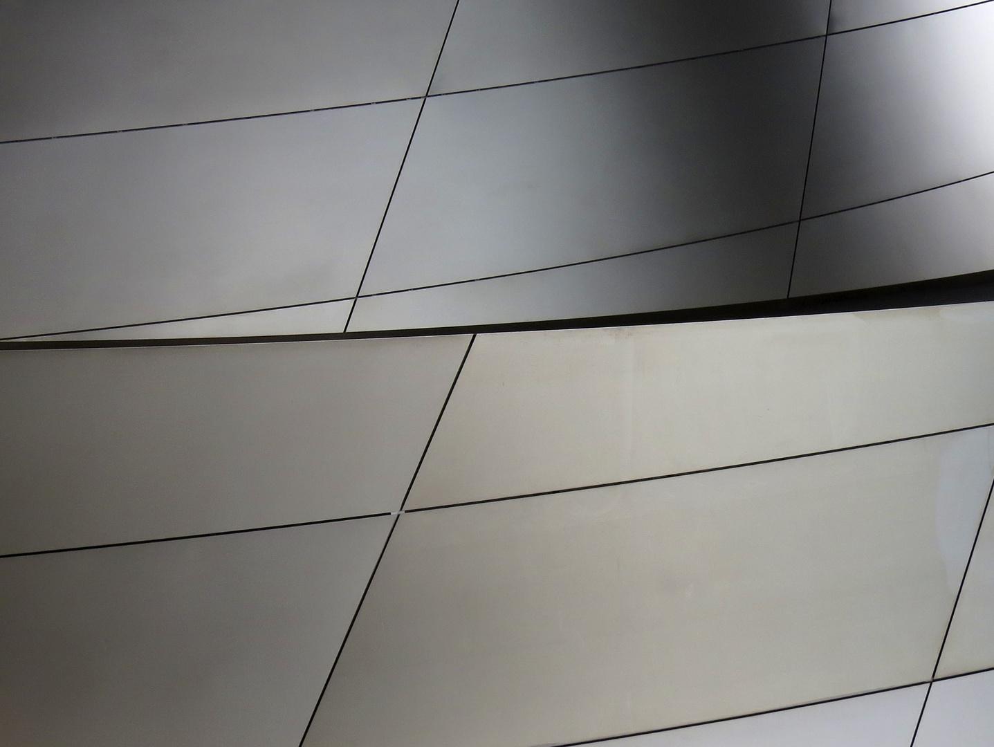 mattglänzende Architektur