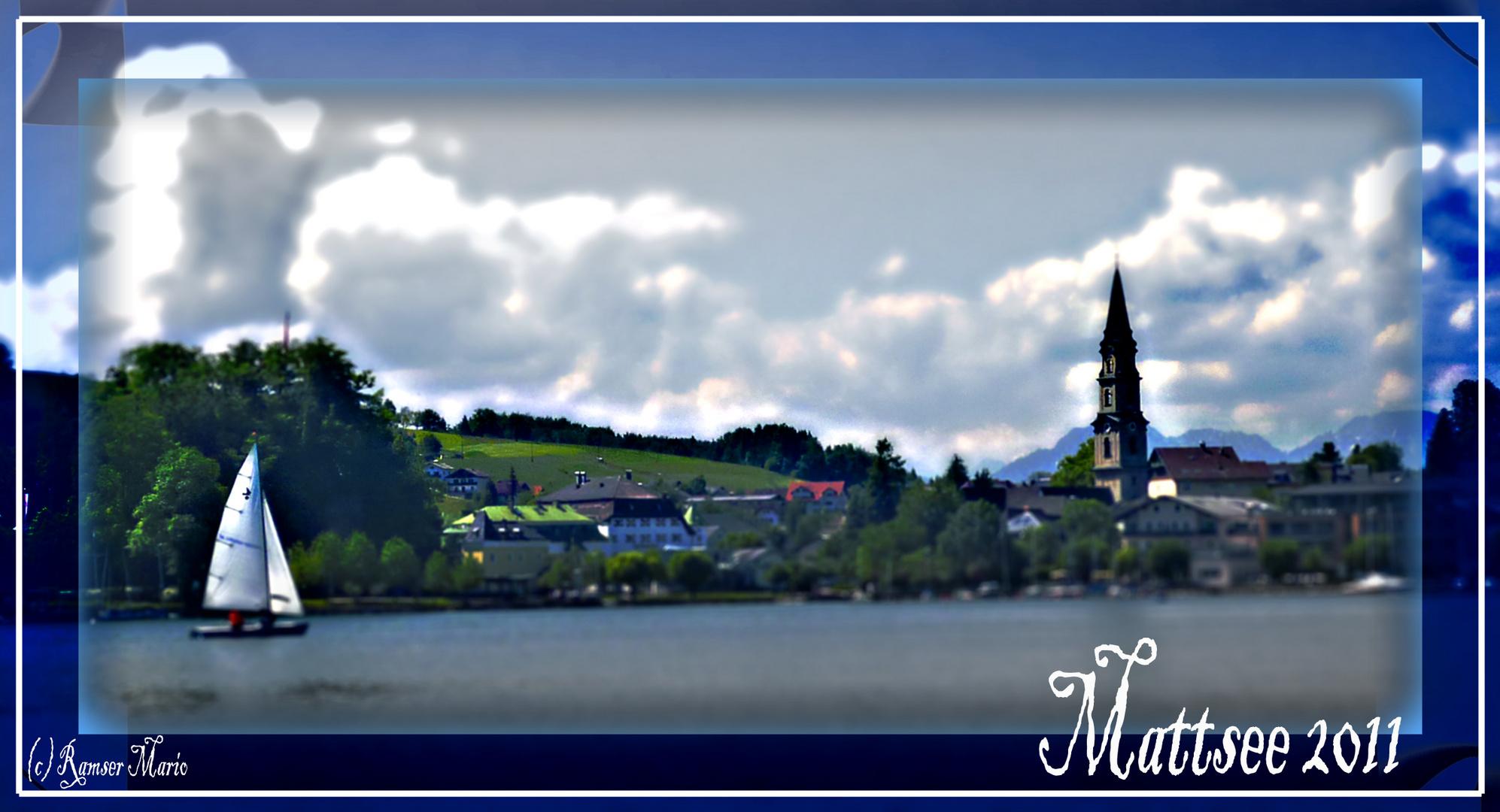 Mattsee 2011 - Postkartenbild