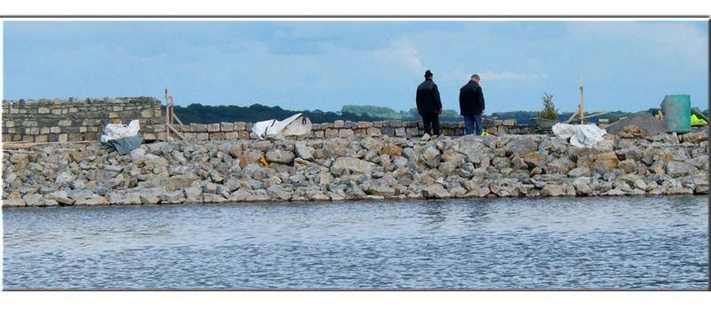 Mauerbau - auf irische Art