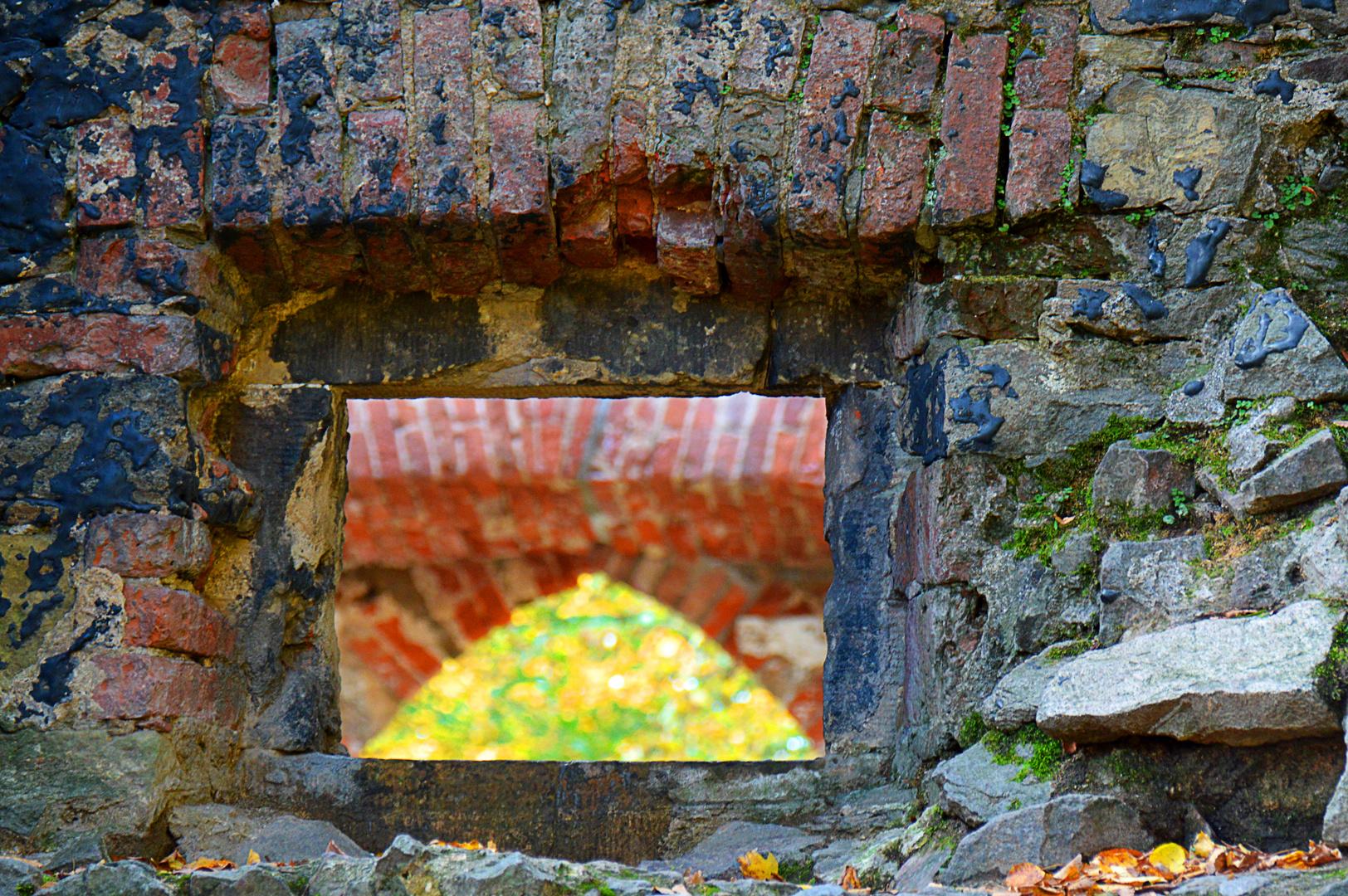 Mauerdurchbruch