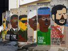 Mauerreste am Checkpoint Charlie