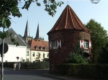 Maueturm in Xanten Niederrhein