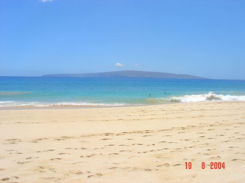 Maui dalla spiaggia più bella del mondo