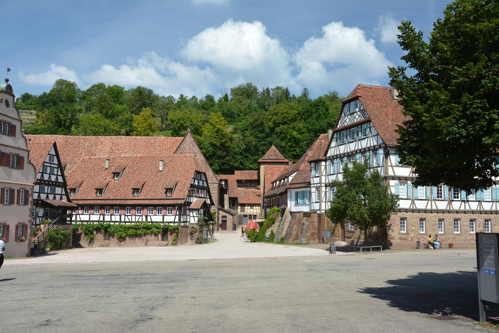 Maulbronn / Klosterhof in Maulbronn
