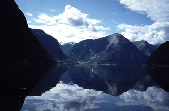 Maurangsfjorden Schönwetter