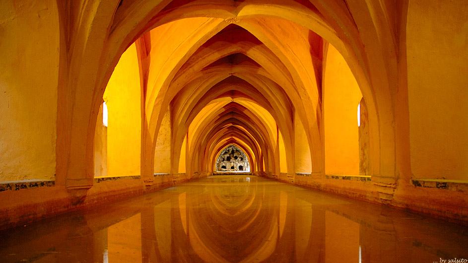 Maurische Bäder (Alcazar v. Sevilla)