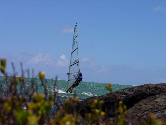 Mauritius, ein Traum für Windsurfer....
