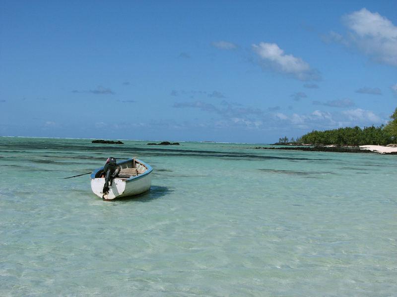 Mauritius Postkarte?