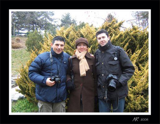 Maurizio, Natalie, Alessandro
