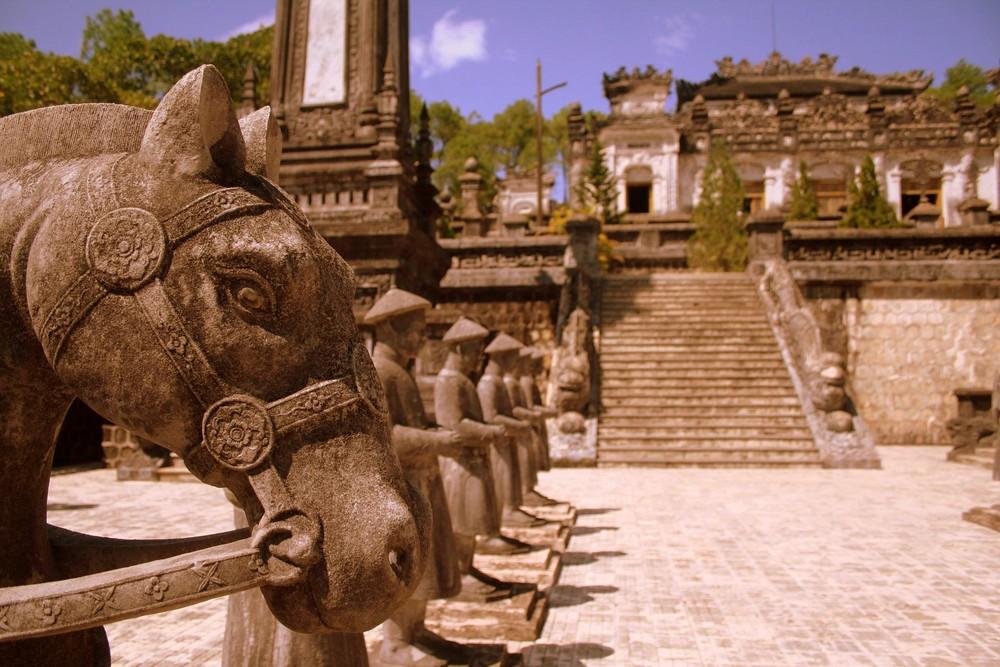 Mausoleo del emperador Khai Dinh
