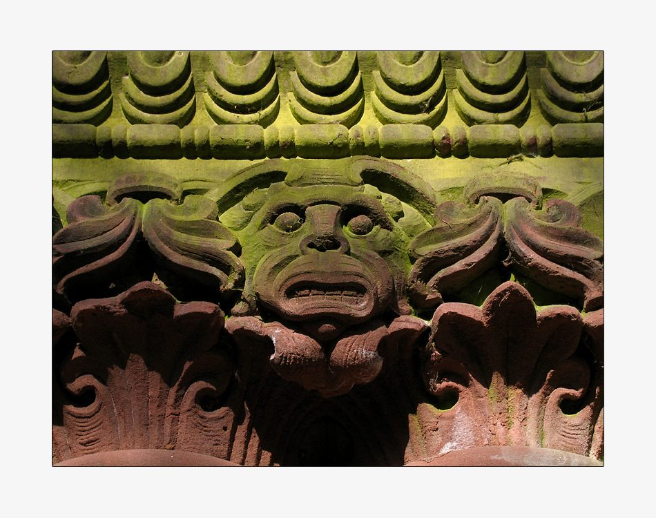 ...mausoleum II...detail...
