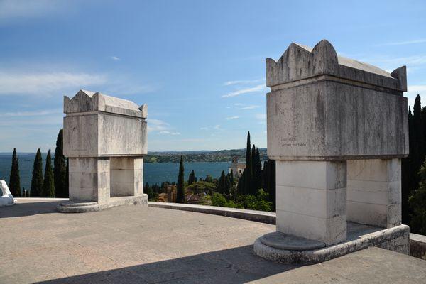 Mausoleum im Vittoriale degli Italiani