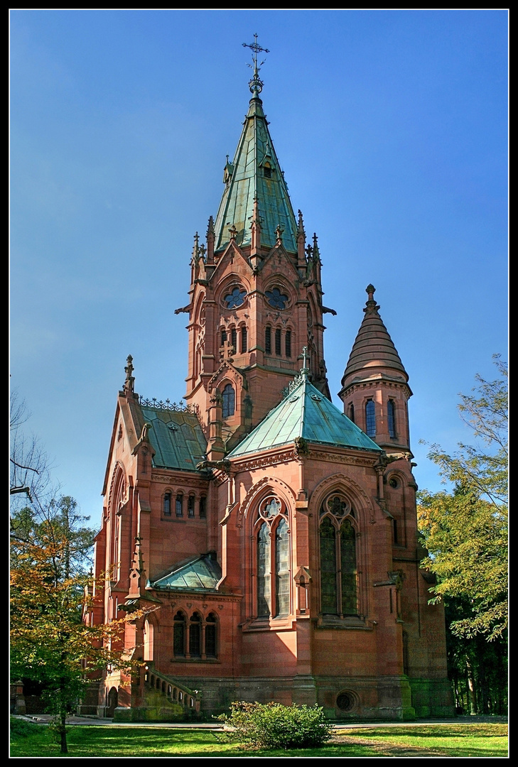 Mausoleum karlsruhe foto bild architektur - Architektur karlsruhe ...