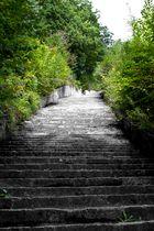 Mauthausen Memorial - Steintreppe zum Steinbruch