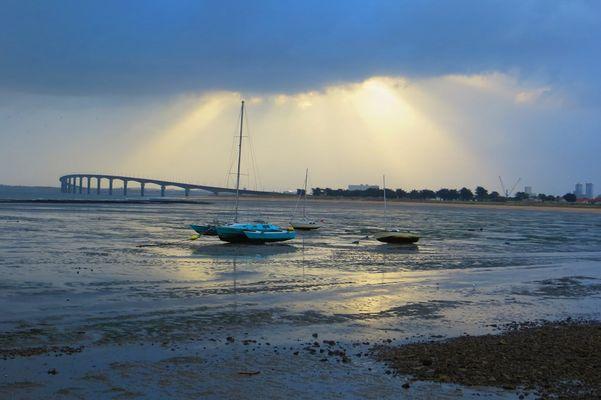mauvais temps à marée basse
