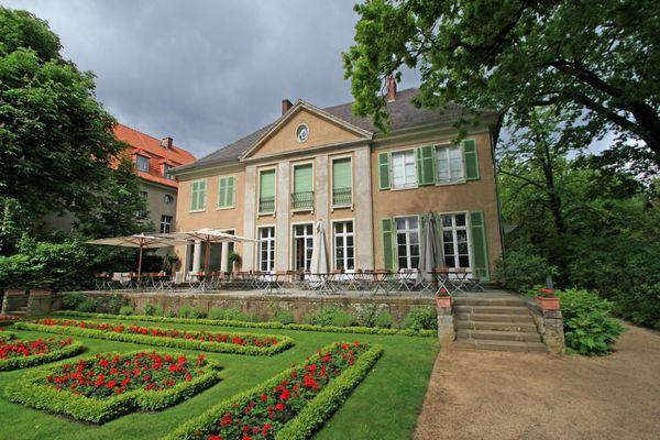 Max Liebermann Villa am Wannsee 05.2014 -im Garten hinterm Haus