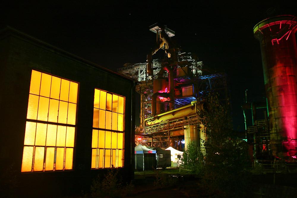 Maxhütte in Sulzbach-Rosenberg nachts (5)