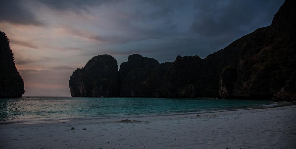 Maya Bay ohne Menschen