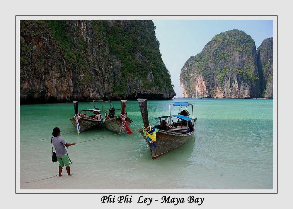 Maya Bay (Phi-Phi-Island)