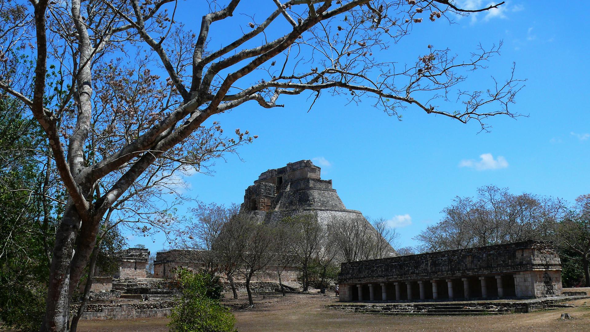 Maya Stadt Uxmal