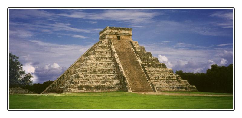 Mayapyramide Kukulkán in Chichén Itzá