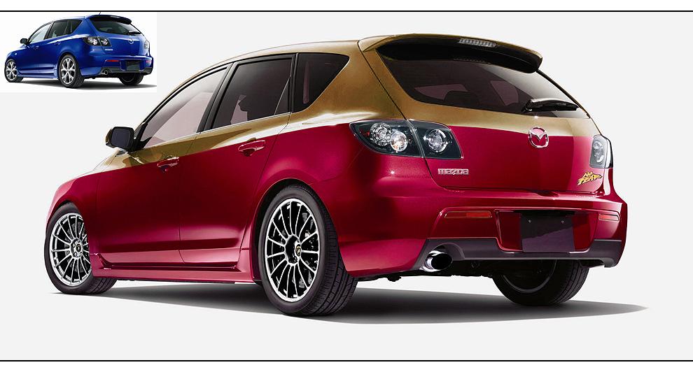 Mazda 3...