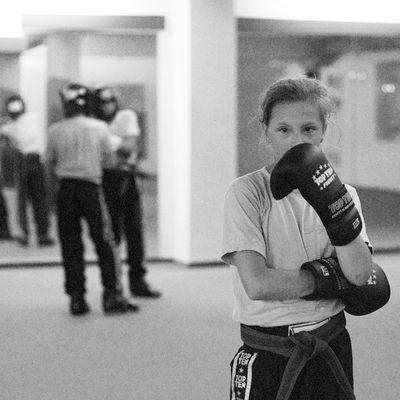 M.C., 12 Jahre, Kickboxerin