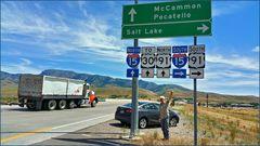 Mc Cammon Truckstop in Idaho
