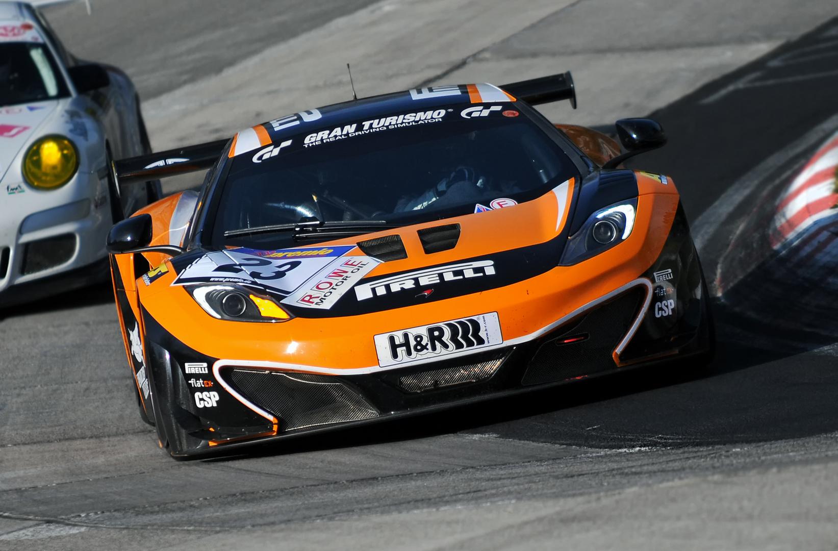 McLaren / VLN / Einstellfahrten / 2012