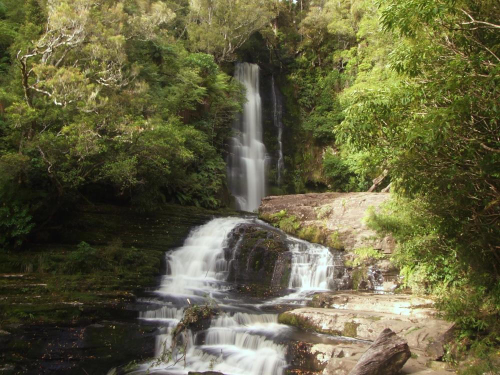 McLean Falls in den Catlins