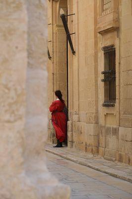 Mdina, die stille Stadt ..