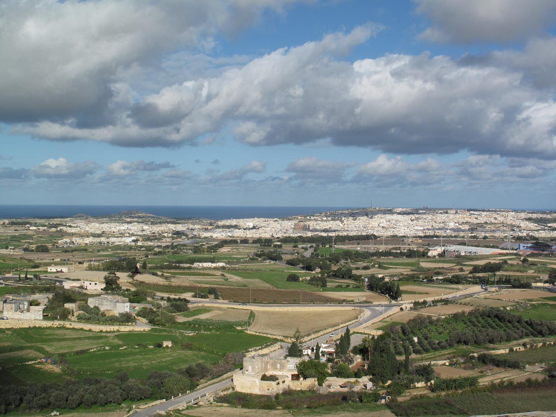 Mdina Panorama Wolken