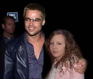 Me and Brad Pitt *lach*