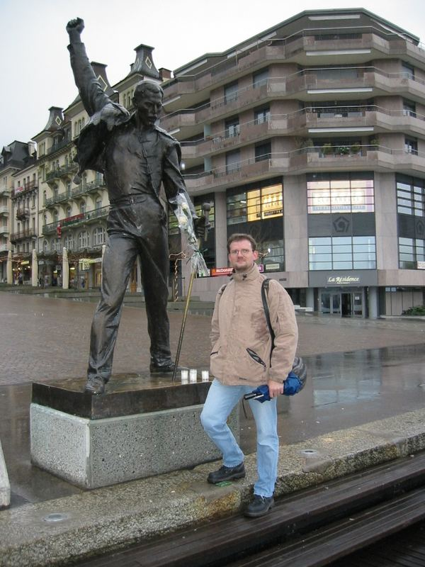 ...me and Freddie (in Montreux Dec 2002)
