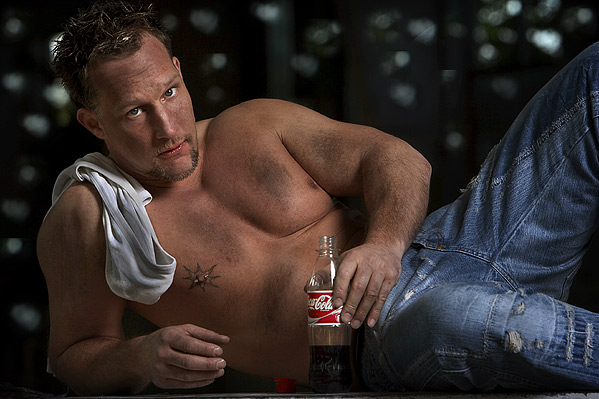 me and my coke....