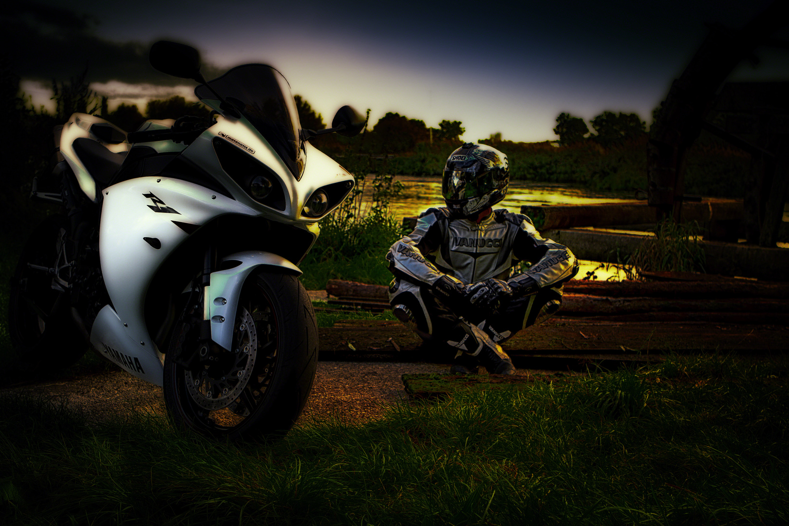 me and my r1 :)