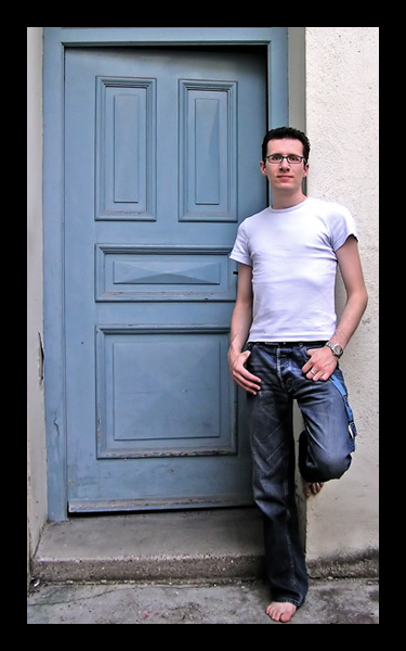 Me and that ol' blue door