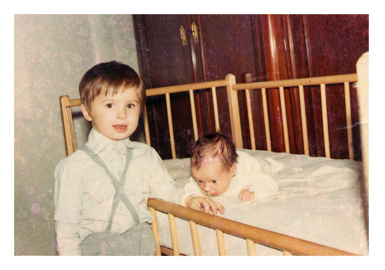 me (left) and my brother anno 1969