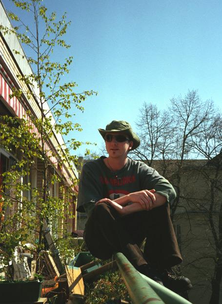 me, myself and my balkon...