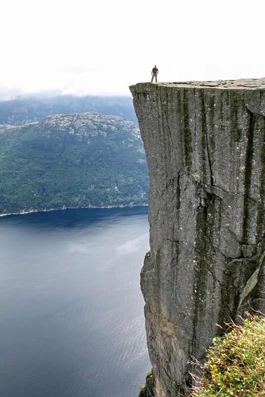 Me on Preikestolen