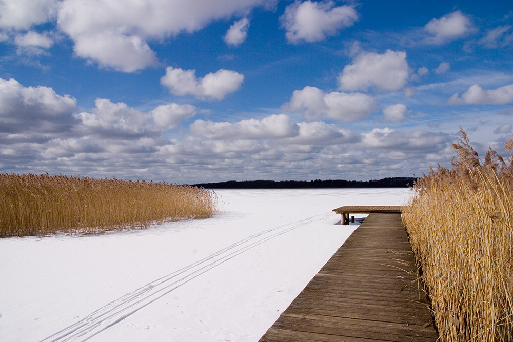 Mecklenburger Wolkenmaschine im Winter