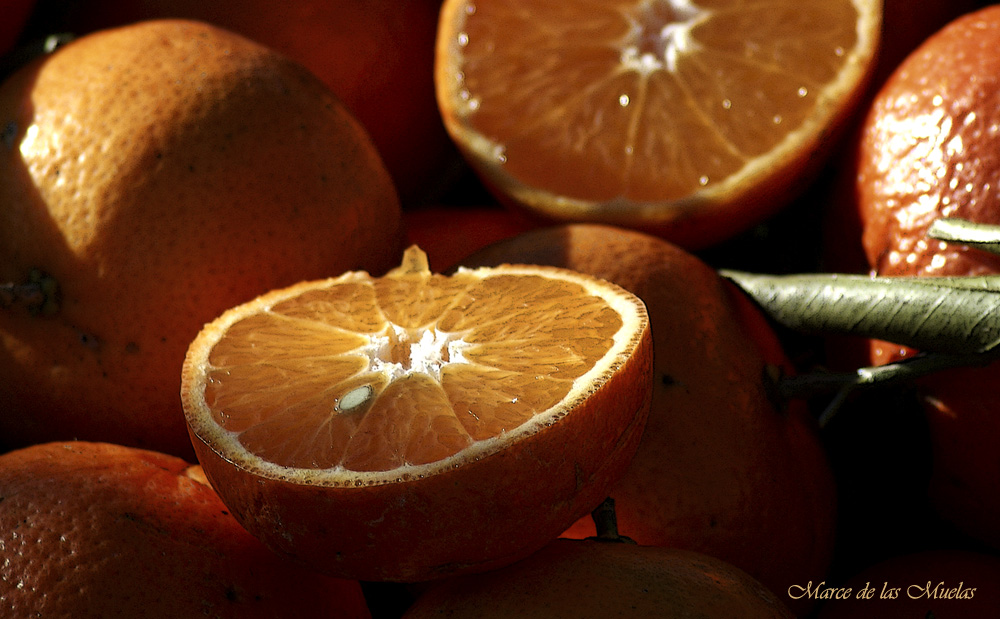 ...media naranja...