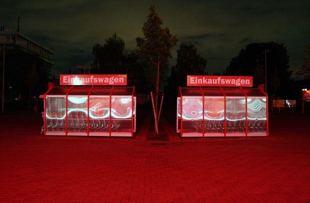 MediaMarkt bei Nacht